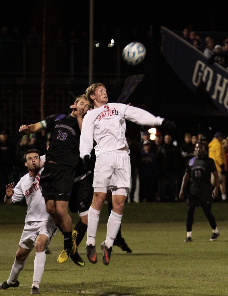 Men's Soccer Makes History in NCAA