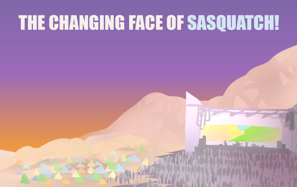 The Changing Face of Sasquatch!