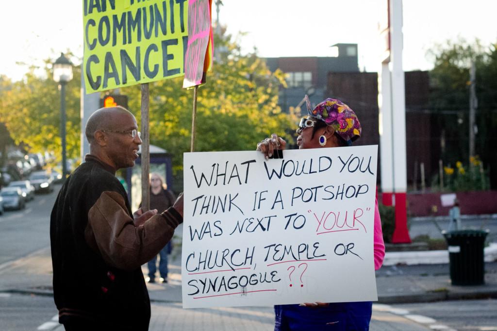 Pot Shop Incites Controversy, Protests