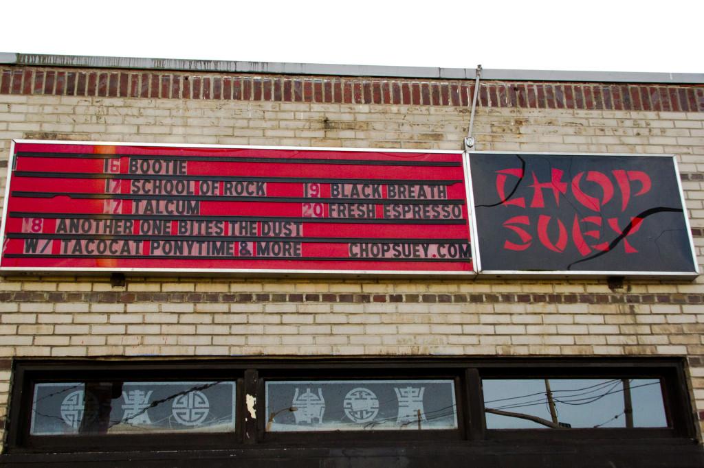 Chop Suey Closes up Shop, SU Bands Reminisce