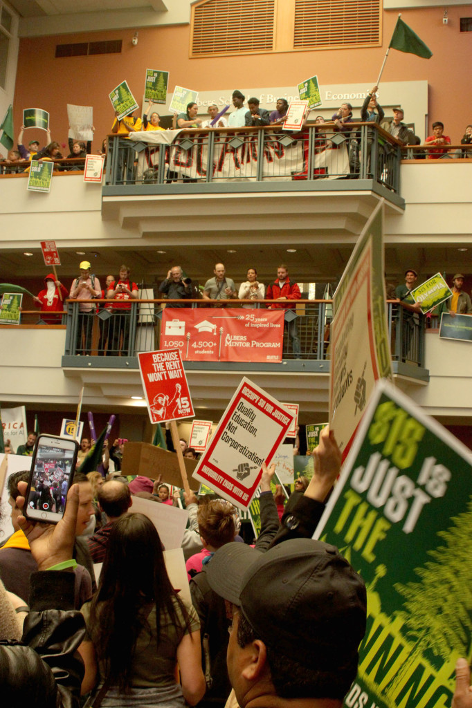 Occupy SU: A Cry For Workers' Rights