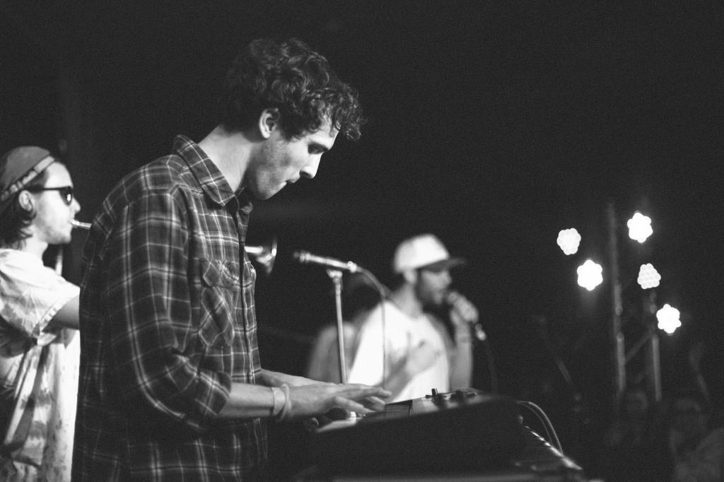 Tommy Sandri on keyboard.