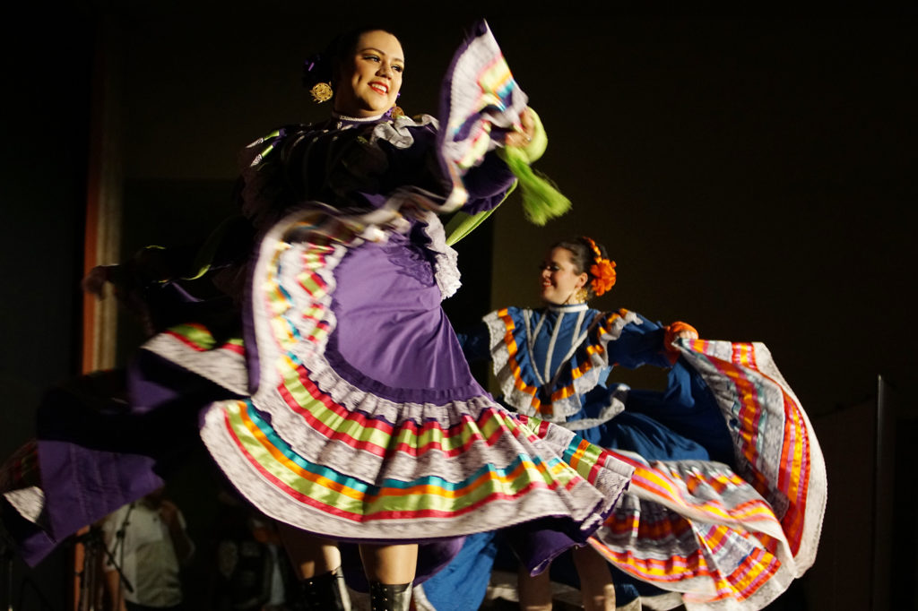 Bailadores de bronce, one of Seattle's oldest Mexican folk dance groups.
