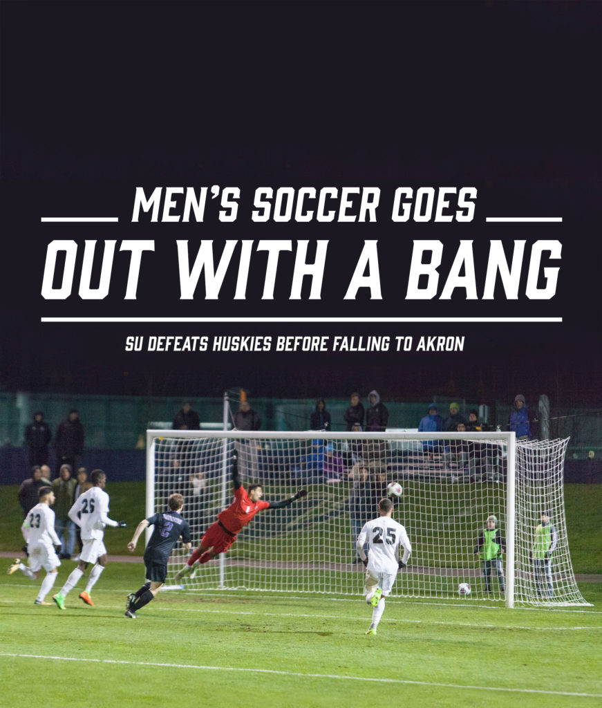 Men's Soccer Season Ends in Second Round of NCAA Tournament