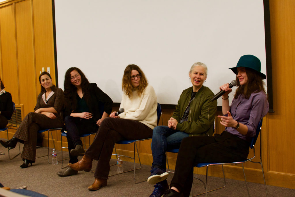 Women in Film Discuss Gender Obstacles and Strategies for Success