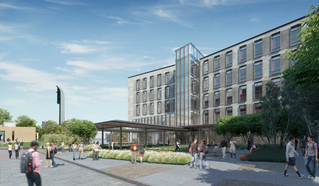 Via Lara Branigan, Director of Design & Construction for Facilities.